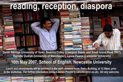 reading, reception, diaspora poster